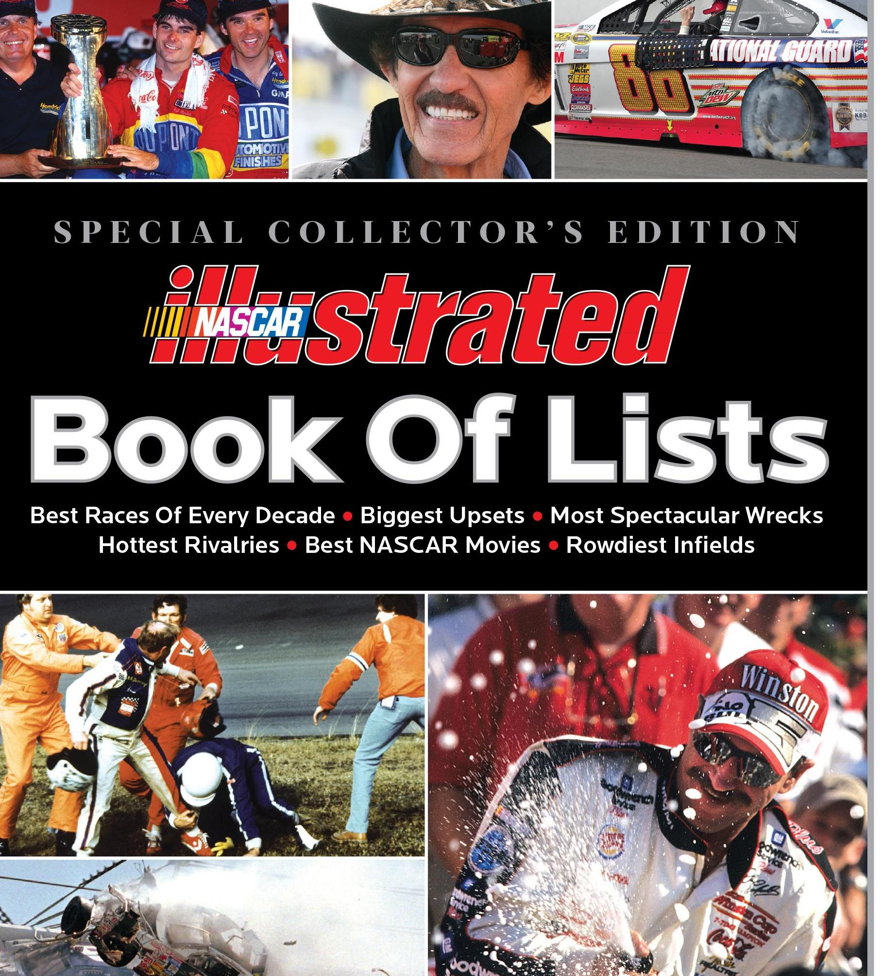 Nascar Illustrated Book Of Lists