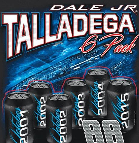 Dale Jr Talladega Gear