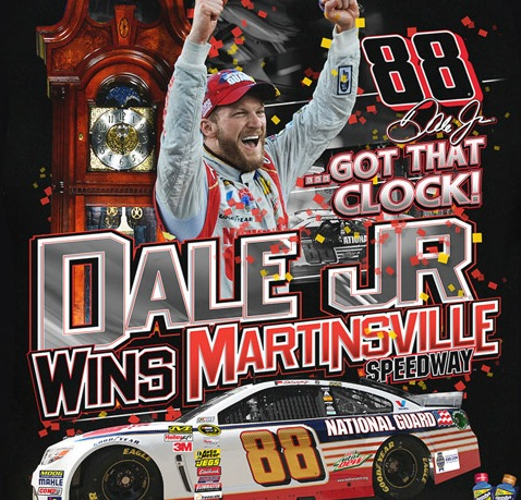 Dale Jr. Martinsville Wins Tee