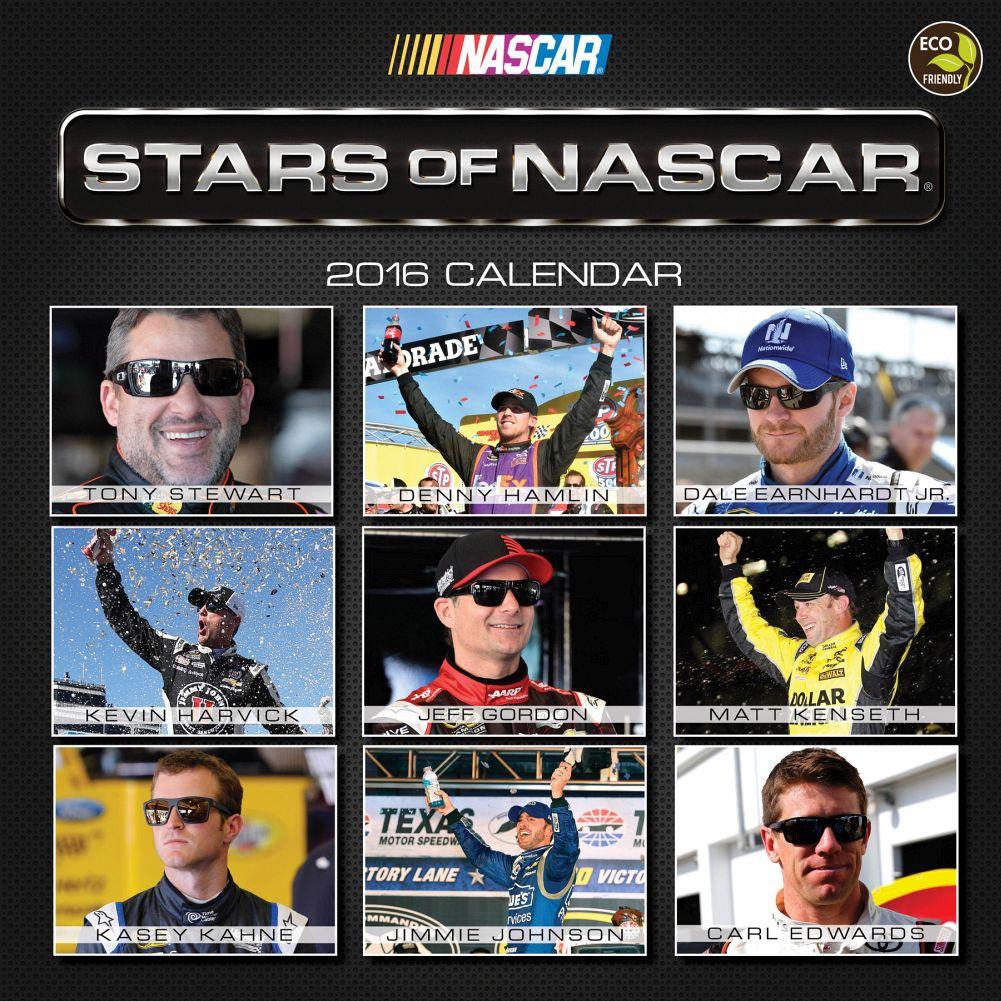 2016 NASCAR Calendars