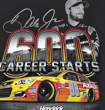 Dale Earnhardt Jr. 600th Career Start Tee Shirt